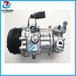 6V12 14339N Auto ac compressor for VOLKSWAGEN POLO SKODA RAPID 6RF820803B 6RF820803A 6RD820803D SD1917 1950