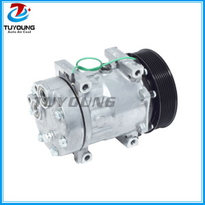 Auto A/C Compressor and Clutch for VOLVO truck SD 8151 8044 8176 6028 CO 8044C 24V 2008044AM 813017