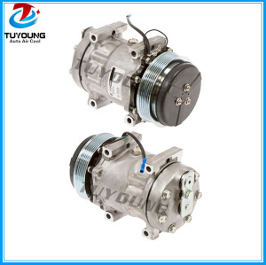7H15 vehicle air conditioning compressor for universal truck tractor PN# 8244 Car air pump