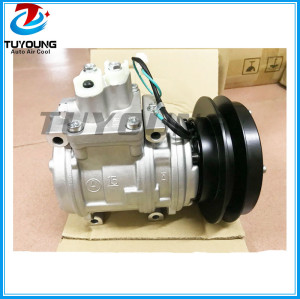 20Y-979-D380 10PA15C Auto air conditioning compressor for Excavator tractor PC200-6 6D102