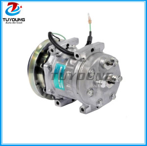 SD7H13 8925 TDKR151320S TDKR151340S auto ac compressor for Farm & Heavy truck Applications 24v 146mm 1GR
