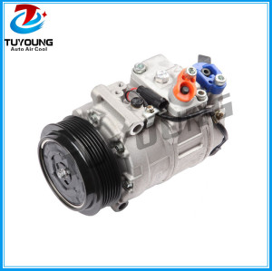 7SEU17C Auto ac compressor for Mercedes Benz C230 C240 C280 C300 C320 CL500 CO 11245C 97394 5512803 6512213 0012304511 2021860R