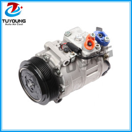 7SEU17C Auto ac compressor for Mercedes Benz C230 C240 C280 C300 C320 CL500 CO 11245C 97394 5512803 6512213 0012304511 2021860R