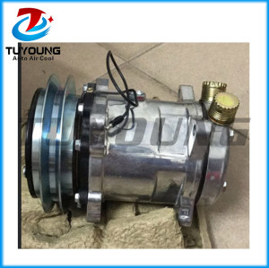 Car accessories for SD5H14 1110-148 12V Excavator Universal auto air conditioning compressor