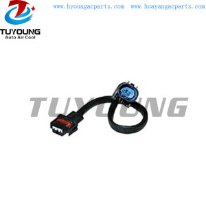 Auto ac connector assembly for BMW control valve