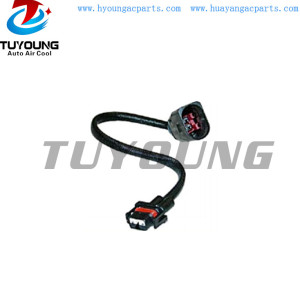 Auto ac connector assembly for VW control valve