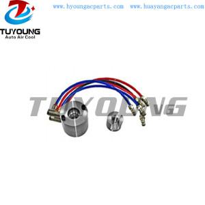 Auto ac test fixture for DCS17E control valve