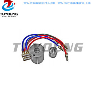 Auto ac test fixture for cwe-618 control valve