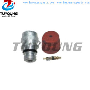 Auto air conditioning hose fitting