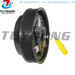 SD6V12-1912 Auto ac compressor clutch Renault Clio Nissan Note 6PK 125MM 12V Bearing size 35x55x20mm 8200365787 92600-ZW70J