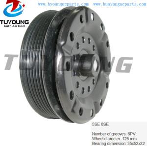 5SE 6SE 6PK 125 mm AC compressor clutch Toyota Corolla Avensis 447260-2270 447150-4510 447180-7204 88310-05080