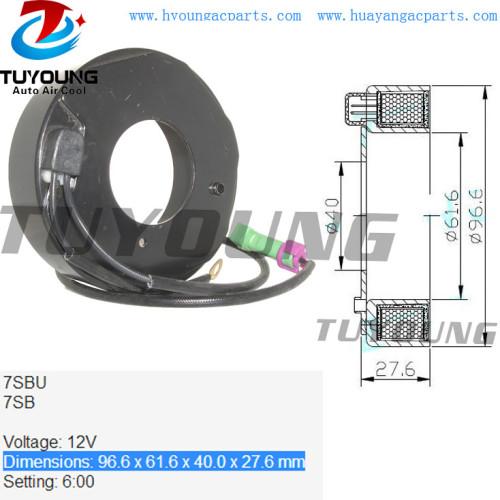 7SBU 7SB a/c compressor clutch AUDI A4 A6 Skoda VW Passat 8D0260808 8D0260805Q 447170-6350 96.6*61.6*40.0*27.6 mm