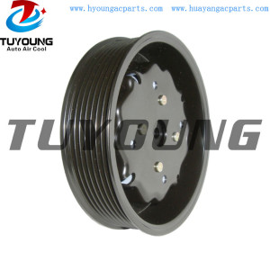 7SEU17C 7PK 124 mm auto Ac compressor AUDI A8 VW Porsche Cayenne 447190-9580 4E0260805F 447190-3600 7L5820803