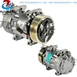 Sanden 6023 7H15 24V 8PK 125MM Dir Pad auto ac compressor Scania 1853081 1888033