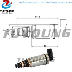 Calsonic CSE613 Auto a/c pump control valve BMW 64509145351, Car A/C Compressor Electronic Control Valve