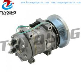 Sanden SD7H15 auto ac compressor fit Caterpillar 24V 320-1291 130mm 8pk