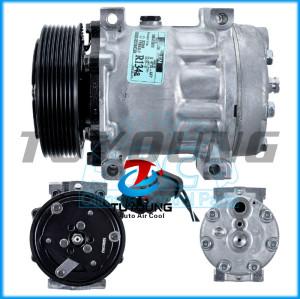 Auto AC 7H15 Compressor FOR Excavator 119mm 8pk Sanden 4775