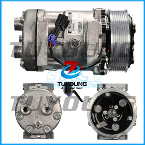 Auto AC 7H15 Compressor FOR Sanden 4421 Ford Sterling ABPN83-304113 8pk 119mm