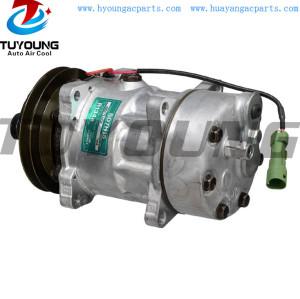R134A SD7H15 Auto a/c compressor JAGUAR 132MM 1PK 12V MHE7300AA CBC6522 UD73526
