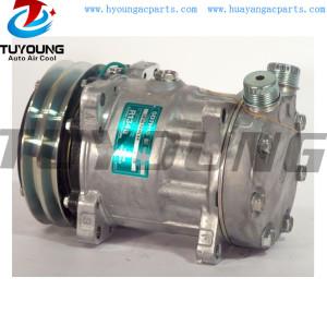 SD7H15 132MM 2PK 24V Auto a/c compressor R134A