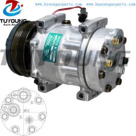 SD7H15 Car ac Compressor Case New Holland 87709785 87802912 112MM PV4 12V