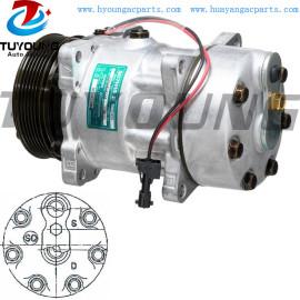 SD7H15 Car ac Compressor Renault VI 5010412962 112MM PV6 24V