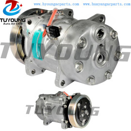 SD7H15 Car ac Compressor Volkswagen Transporter 2D0820805B 128mm PV6 12V