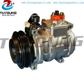10PA17C Auto a/c compressor BMW 518 64528391136 125MM PV4 12V
