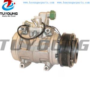 10P17C Auto a/c compressor AUDI V8 077260803C 077260803A 128MM PV6 12V