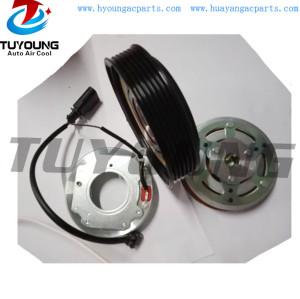 denso 6SAS14C 125/128 mm 12V 6PK Auto air conditioning compressor clutch for AUDI A4 2.0 447280-7032 4472808820 8T0260805F