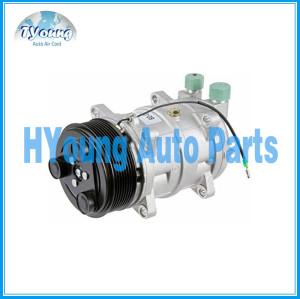 TM16 8pk AC Compressor & Clutch 60-02242NA 500630-9014