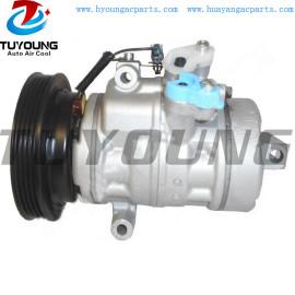 vehicle air conditioning compressor for Nissan Pixo Suzuki Alto 10SA13 4472800490 240809A33697 95200M68KA1 27630-4A00K