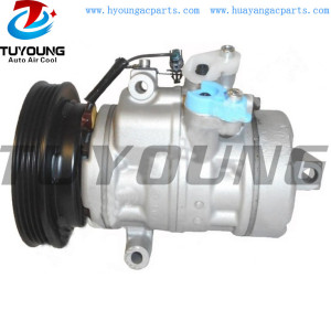 vehicle air conditioning compressor for Nissan Pixo Suzuki Alto 10SA13 4472800490 240809A33697 95200M68KA1 27630-4A00K