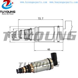 Calsonic CSE613 Auto AC Compressor control valve BMW 64509145351, Car a/c pump Electronic Control Valve