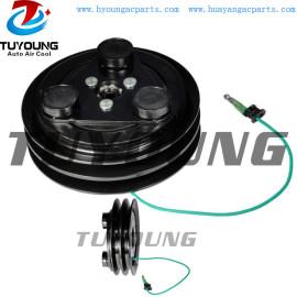 Clutch fit TM08 TM13 TM15 TM16 Vehicle Truck air conditioning compressor clutch 24V 136mm 2PK