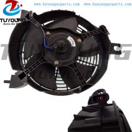 MN123607 auto air conditioning radiator condenser fan fit Mitsubishi Pajero L200 Sport Montero Challenger Nativa Pickup Triton motor fan