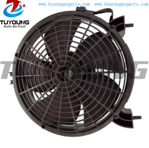 MN123607 auto air conditioning radiator condenser fan fit Mitsubishi Pajero L200 Sport Montero Challenger Nativa Pickup Triton motor fan