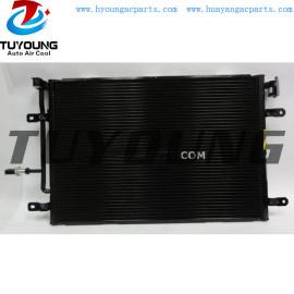 8E0260401J 8E0260401P auto air conditioner condenser fit AUDI A4 8FC351304751 8E0260401R 8E0260401S Size 388*575*16mm