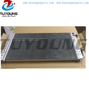 Auto AC Condenser fit Nissan pickup 1998 model Core size 580 *303.3*18 mm, car air conditioning condenser