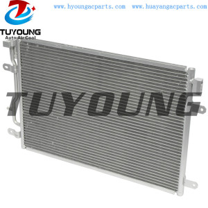 fit Audi A4 A4 Quattro 1.8L 3.0L auto air conditioner condenser 8E0260403D 8E0260401D Size 610*405*25.4 mm