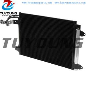 fit Audi A3 TT Volkswagen Golf Jetta Rabbit auto air conditioner condenser 1K0820411Q 11932551 Size 584*401*16 mm