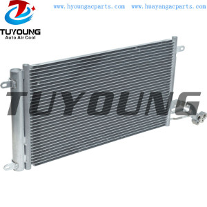 VW Polo Seat Audi A1 auto air conditioner condenser 6R0820411A 6R0820411D 6R0820411G Size 331*575*16 mm