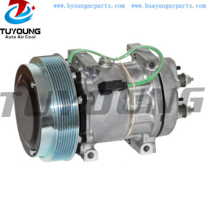 7H15 709 4250 324-9711 auto ac compressor for Caterpillar Off-Road Volvo Freightliner 3249711 270124760 vehicle air pump