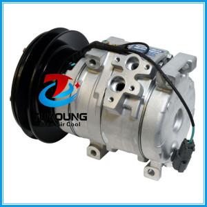 20Y9796121 auto ac compressor for John Deere Komatsu Kobelco Hitachi agriculture 10S15C 4472204052 4210731220 20Y8101260