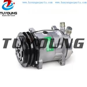 Sanden 7H15 vehicle ac compressor SD7H15 4627 YN437190-0291RC SD709 125MM 12V 2PK