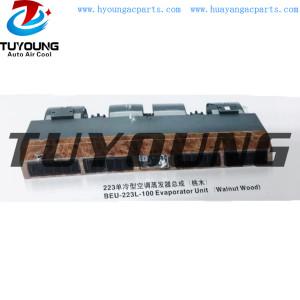 BEU-223L-100 Walnut Wood auto air conditioner Evaporator