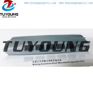 Wuling Sunshine Roof Mounted auto air conditioner Evaporator Unit cooling , car ac Evaporator Unit