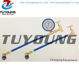 auto air conditioning charging equipment, suit for quick filling, Connection 1/2CME R134A