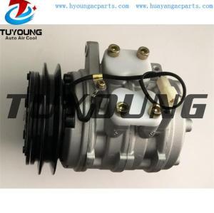 Denso 10P08E AC Compressor for Kubota Tractor Farm PN#T0070-87290 447200-7443 447300-3611 T0070-87310