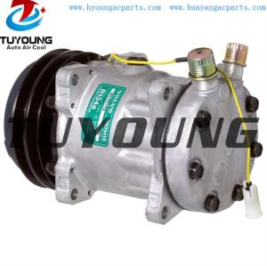 Sanden SD7H15 709 AC Compressor For SD7H15-8239 SD7H15-8061 SD7H15-8017 SD7H15-4742 JHH0126 11007857